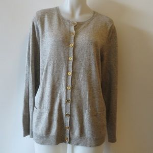 RALPH LAUREN ROUND-NECK LONG SLEEVE CARDIGAN 1X *